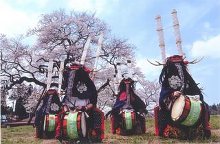 優秀賞「桜下に踊る(千葉守保氏)」blog.jpg